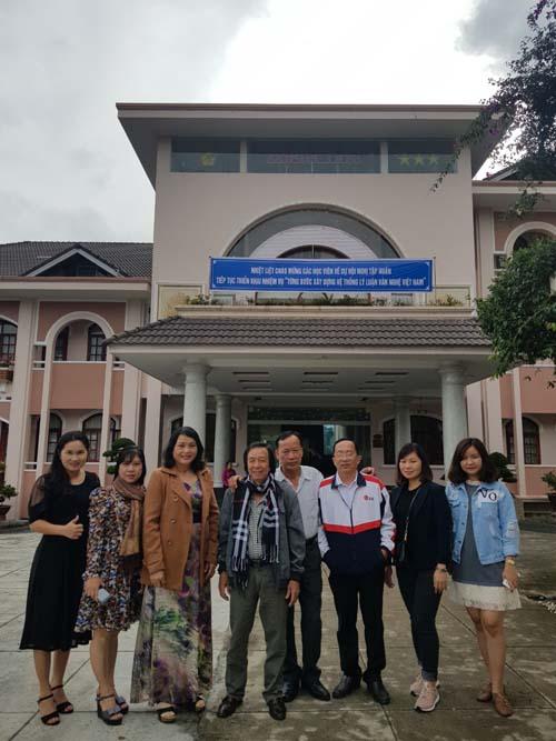 Đoàn học viên Long An tham dự Hội nghị tập huấn