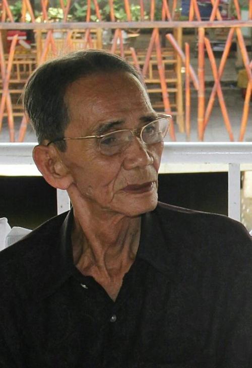 Nghệ nhân Bảy Vân, vừa được phong tặng danh hiệu Nghệ nhân nhân dân