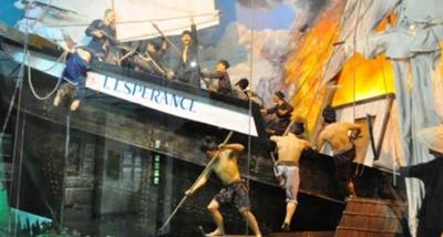 Ngày 10/12/1861, Nguyễn Trung Trực chỉ huy nghĩa quân làm nên chiến công vang dội đốt cháy tàu L'Espérance
