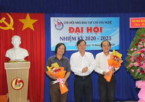 Ban Thư ký, nhiệm kỳ 2020-2023 ra mắt trước Đại hội